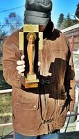F. Antik, Mária fali szobor tölgyfa.  32 cm magas. igényes darab!