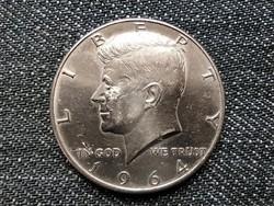 USA Kennedy half dollar .900 ezüst 1/2 Dollár 1964 / id 16042/