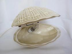 Világhy kerámia kagyló lámpa