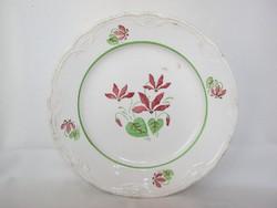 Gránit kerámia virágos tányér