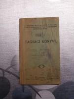 Tagsági könyv - Temetkezési Egyesület 1931