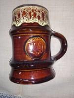 Mesterjeles Zsolnay sörös kupa