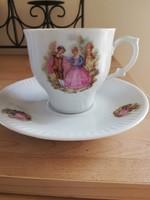 Jelenetes kávés csésze 1,5 dl