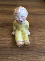 Jelzett Rahmer Mária kerámia figura