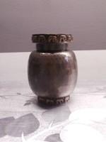 Iparművészeti réz váza