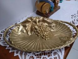 Sárgaréz asztalközép