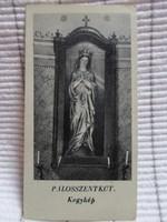 Szentkép: Pálosszentkút – Mária