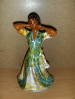 Kerámia hölgy figura 23 cm