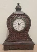 Keleti, gyarmati stílusú asztali - kandalló óra eladó