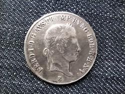 Ausztria V. Ferdinánd (1835-1848) .583 ezüst 20 Krajcár 1844 E / id 16194/