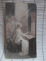 Szentkép: női szentek (2 db, Katolikus Egyház)