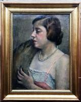 Gáll Ferenc - Eugenie Chassaing Portréja