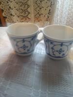 Jáger egyedi csésze szalmavirágos  párban