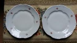 Zsolnay tányérok (1 mély 2 lapos)