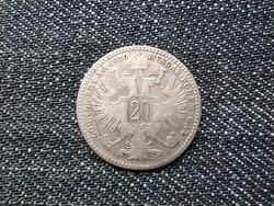 Ausztria Ferenc József .500 ezüst 20 Krajcár 1870 / id 16195/