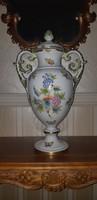 Herendi Viktória mintás kupa váza /legnagyobb méret 51 cm/