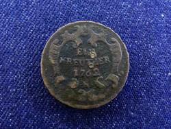 Ausztria Mária Terézia 1 Krajcár 1762 K / id 4399/