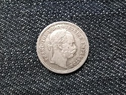 Ausztria Ferenc József ezüst 10 Krajcár 1872 / id 16196/