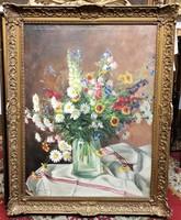 Nagy Károly 1939 / Mezei virágcsokor