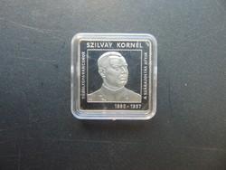 2000 forint 2015 Szilvay Kornél szögletes emlékpénzérme PP