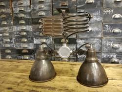 Géplámpa burás ipari stílusú mennyezeti lámpa, loft lámpa, industrial design