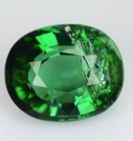 Paraiba Turmalin élénk zöldes 1.65 ct  (7x6)