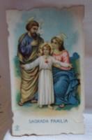 Szentkép: Szent Család (1920-1940, Katolikus Egyház)