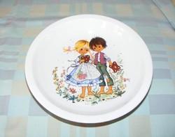 Jancsi és Juliska mesés tányér