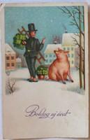 Újévi képeslap, 1933
