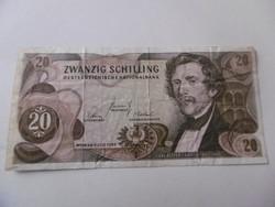 20 Silling bankjegy 1967 T2-3