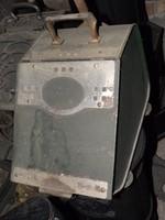 Antik  Art Deco szenes kanna széntartó edény vas tűzifatartó vödör cserépkályha mellé