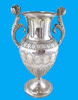 neoklasszicista  800 ezüst    virágváza.