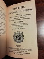 Antik francia könyv