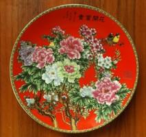 Kínai szegfűmintás tányér