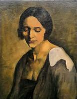 Hölgy portréja, 1920 körül !!!