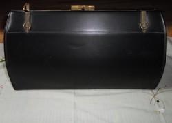 Vintage, fekete női táska (retikül)