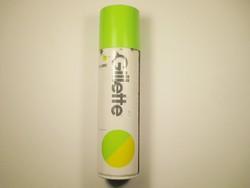 Retro Gillette borotvahab spray flakon - 1980-as évekből
