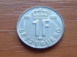 LUXEMBURG 1 FRANK 1989 #