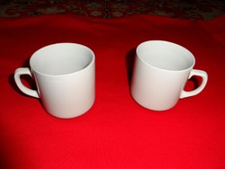 Régi,porcelán pocakos, bögre  2.db
