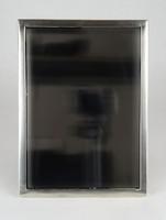 0X226 Antik 13 lattos ezüst keretes tükör 1853