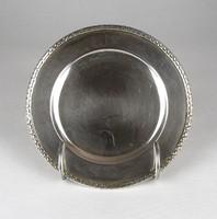 0X149 Régi jelzett 800-as ezüst tányér 190 g