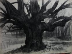 Szegedi Molnár Géza csodálatos festménye