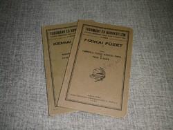 Tudomány és Honvédelem - Fizika és Kémia füzet