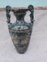 Antik majolika váza. 57 cm.