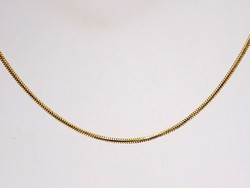 Arany kígyó lánc (ZAL-Au82800)