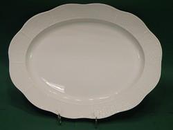 12 sz. fehér Herendi sültes tál