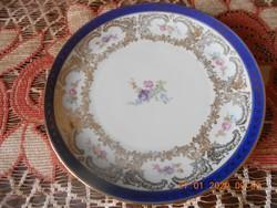 Bavaria porcelán süteményes tányér