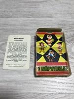 Régi népviselet kártya , játékkártya