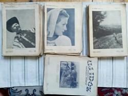 Új idők újságok 1930-40-s évek 78db