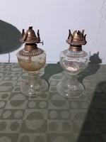 Régi retró kínai petróleum lámpa két darab ötezer forint
